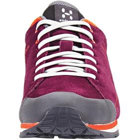 Haglöfs Roc Lite Shoes Damer, aubergine/habanero